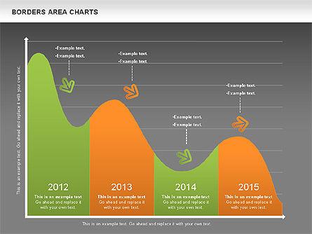 Line Area Chart, Slide 13, 01155, Business Models — PoweredTemplate.com