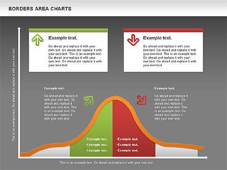 Line Area Chart, Slide 15, 01155, Business Models — PoweredTemplate.com