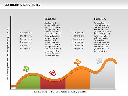 Line Area Chart, Slide 5, 01155, Business Models — PoweredTemplate.com