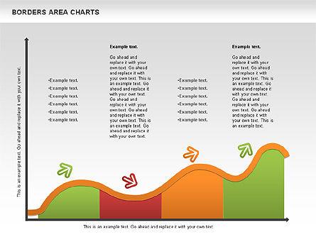 Line Area Chart, Slide 6, 01155, Business Models — PoweredTemplate.com