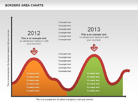 Line Area Chart, Slide 8, 01155, Business Models — PoweredTemplate.com