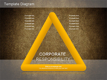 Business Models: Corporate Responsibility-Diagramm #01157