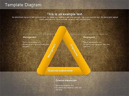 Corporate Responsibility Diagram, Slide 4, 01157, Business Models — PoweredTemplate.com