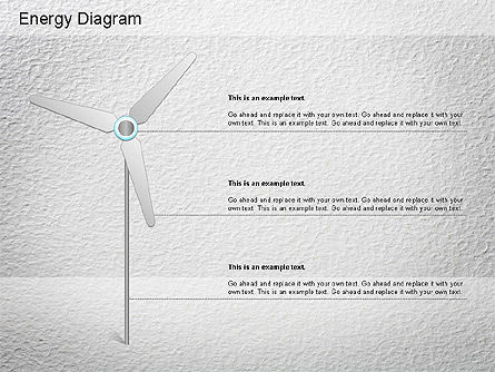 Wind Energy Diagram, Slide 4, 01158, Business Models — PoweredTemplate.com