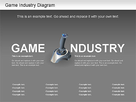 Game Industry Diagram, Slide 12, 01159, Business Models — PoweredTemplate.com