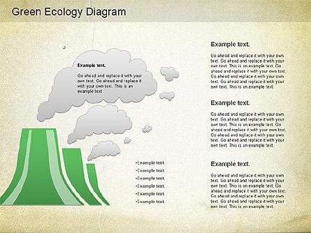 Green World Diagram, Slide 3, 01160, Business Models — PoweredTemplate.com