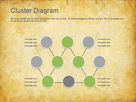 Graph Charts: Clustering Diagram #01162