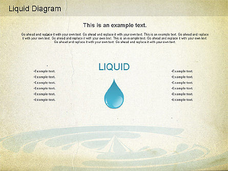 Business Models: Liquid Diagram #01163