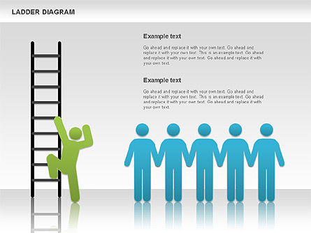 Business Models: Ladder Diagram #01166