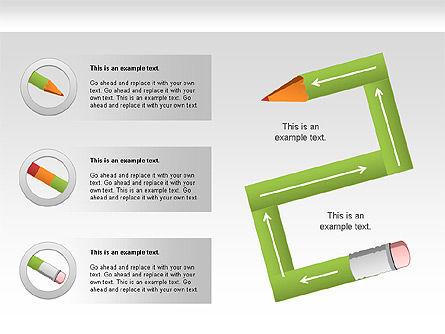 Pencil Diagram Slide 5