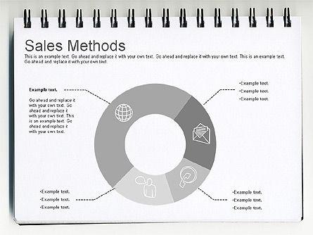 Sales Methods Diagram, Slide 11, 01169, Business Models — PoweredTemplate.com