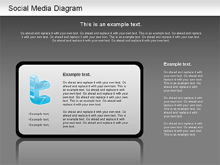 Social Media Analysis Diagram, Slide 12, 01170, Business Models — PoweredTemplate.com