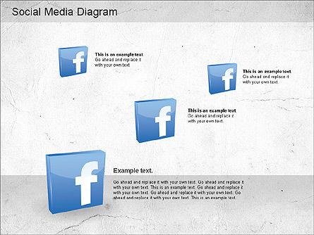 Social Media Analysis Diagram, Slide 8, 01170, Business Models — PoweredTemplate.com