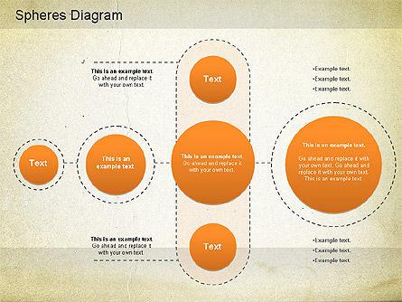 Circled Diagram, Slide 4, 01171, Business Models — PoweredTemplate.com