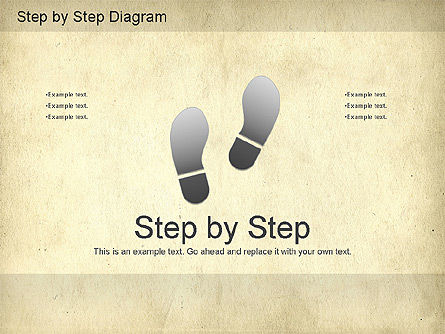 Step by Step Diagram, 01173, Stage Diagrams — PoweredTemplate.com