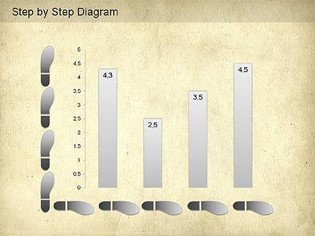 Step by Step Diagram, Slide 11, 01173, Stage Diagrams — PoweredTemplate.com