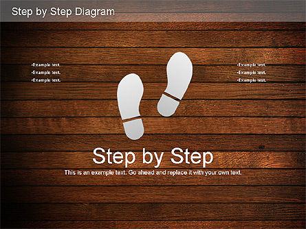 Step by Step Diagram, Slide 12, 01173, Stage Diagrams — PoweredTemplate.com