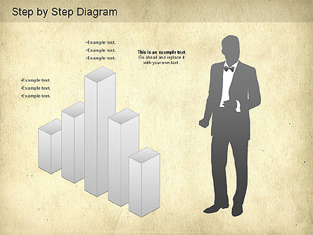 Step by Step Diagram, Slide 4, 01173, Stage Diagrams — PoweredTemplate.com