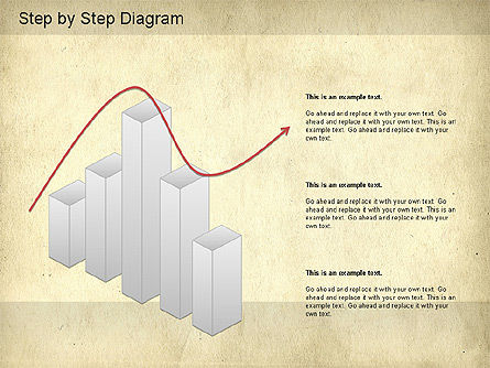 Step by Step Diagram, Slide 7, 01173, Stage Diagrams — PoweredTemplate.com