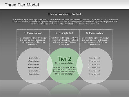 Three Tier Model    Diagram     Presentation Template for