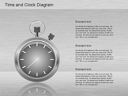 Time and Clock Shapes, Slide 2, 01175, Shapes — PoweredTemplate.com