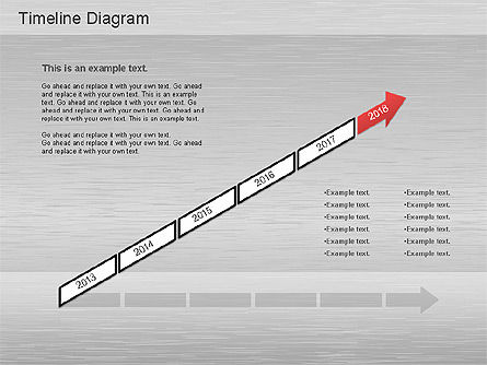 Timelines & Calendars: Timeline Diagrams Set #01176