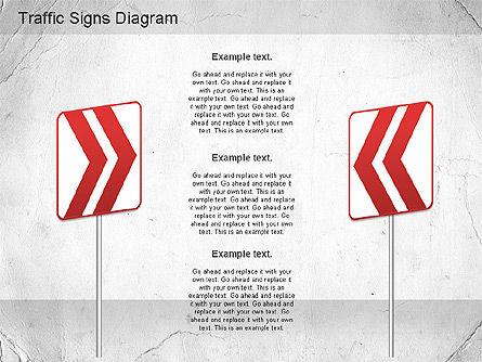 Traffic Signs Shapes, Slide 12, 01177, Shapes — PoweredTemplate.com