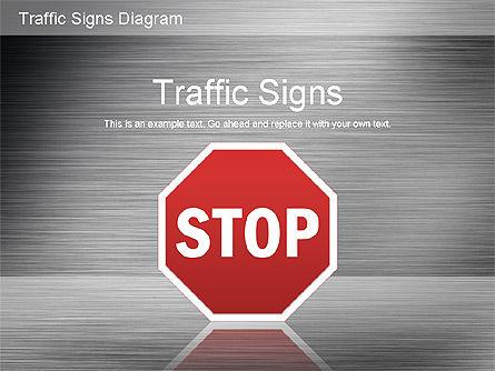 Traffic Signs Shapes, Slide 13, 01177, Shapes — PoweredTemplate.com