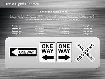 Traffic Signs Shapes, Slide 15, 01177, Shapes — PoweredTemplate.com