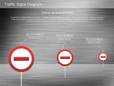 Traffic Signs Shapes, Slide 16, 01177, Shapes — PoweredTemplate.com