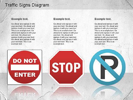 Traffic Signs Shapes, Slide 5, 01177, Shapes — PoweredTemplate.com