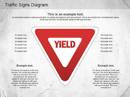 Traffic Signs Shapes, Slide 7, 01177, Shapes — PoweredTemplate.com