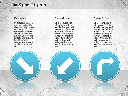 Traffic Signs Shapes, Slide 8, 01177, Shapes — PoweredTemplate.com