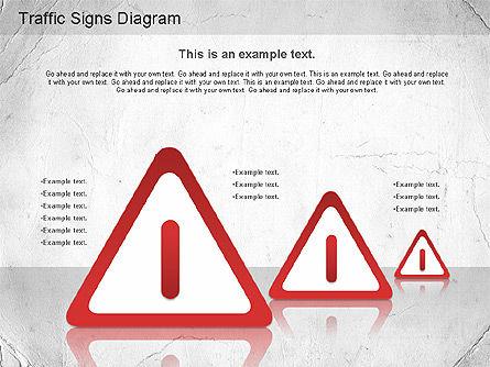 Traffic Signs Shapes, Slide 9, 01177, Shapes — PoweredTemplate.com