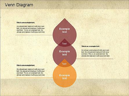 Vintage Style Venn Diagram, Slide 10, 01179, Business Models — PoweredTemplate.com