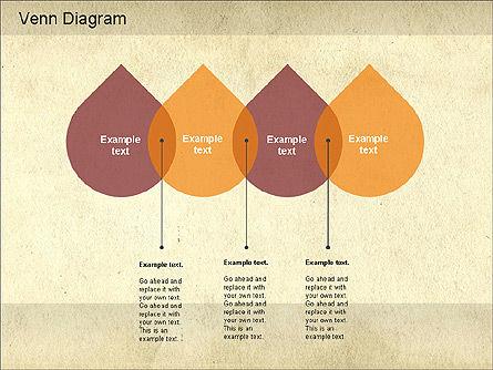 Vintage Style Venn Diagram, Slide 11, 01179, Business Models — PoweredTemplate.com