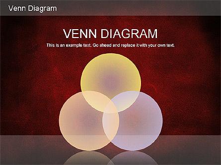 Vintage Style Venn Diagram, Slide 12, 01179, Business Models — PoweredTemplate.com