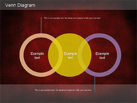 Vintage Style Venn Diagram, Slide 15, 01179, Business Models — PoweredTemplate.com