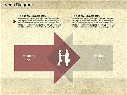 Vintage Style Venn Diagram, Slide 6, 01179, Business Models — PoweredTemplate.com