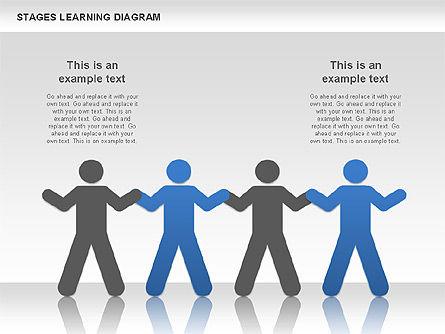 Stage Training Diagram, Slide 6, 01180, Stage Diagrams — PoweredTemplate.com