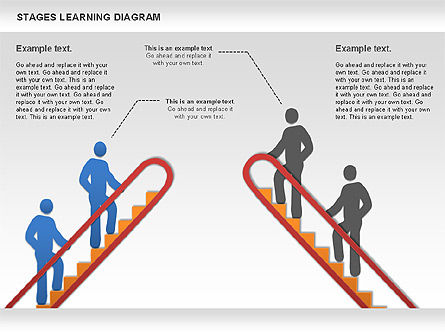 Stage Training Diagram, Slide 8, 01180, Stage Diagrams — PoweredTemplate.com