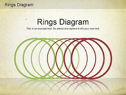 Rings Diagram, 01181, Business Models — PoweredTemplate.com