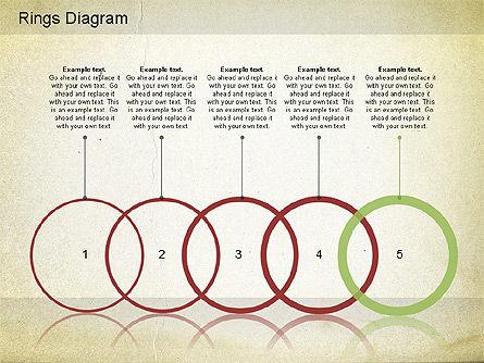 Rings Diagram, Slide 2, 01181, Business Models — PoweredTemplate.com