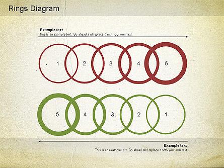 Rings Diagram, Slide 3, 01181, Business Models — PoweredTemplate.com