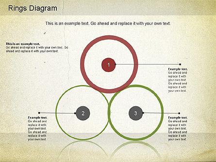 Rings Diagram, Slide 4, 01181, Business Models — PoweredTemplate.com