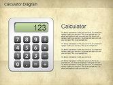 Education Charts and Diagrams: Calculator Diagram #01182