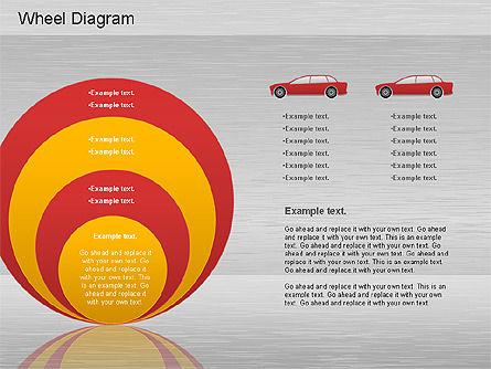 Automotive Diagram, Slide 10, 01184, Process Diagrams — PoweredTemplate.com