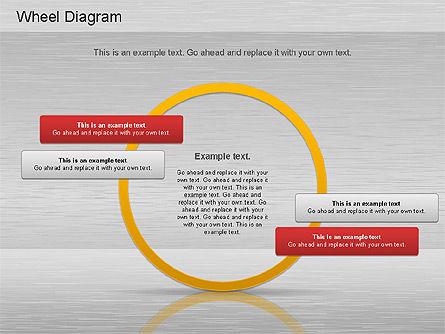 Automotive Diagram, Slide 12, 01184, Process Diagrams — PoweredTemplate.com