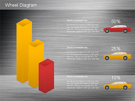 Automotive Diagram, Slide 13, 01184, Process Diagrams — PoweredTemplate.com