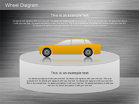 Automotive Diagram, Slide 14, 01184, Process Diagrams — PoweredTemplate.com